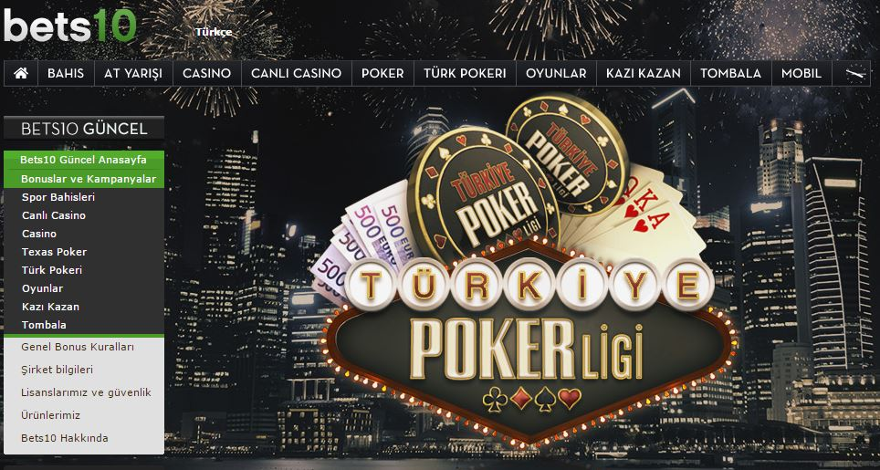 Bets10 Türkiye Poker Turnuvası